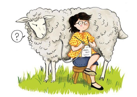 Tricot les ptits plaisirs de mamounette - Image mouton humoristique ...