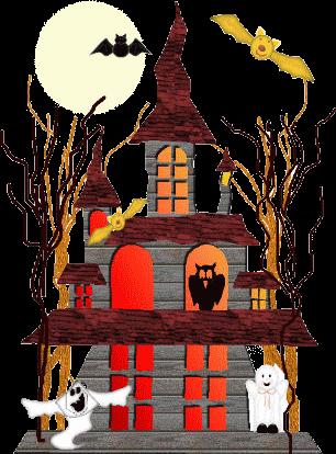 Fete de halloween page 10 - Dessin de maison hantee ...